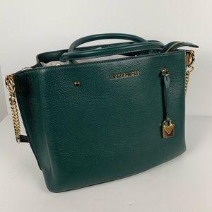 Micheal kors Arielle large leather satchel bag